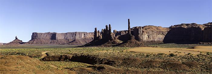 Panorama Totem Pole