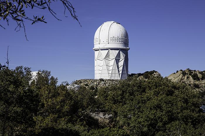 1 4m Spiegelteleskop