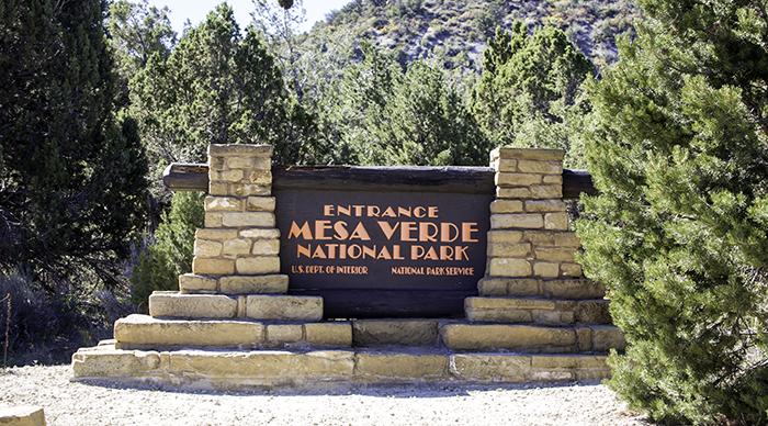 Mesa Verde Eingang