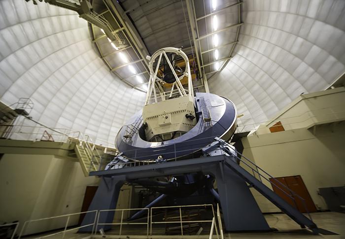 5 Mayall Teleskop innen