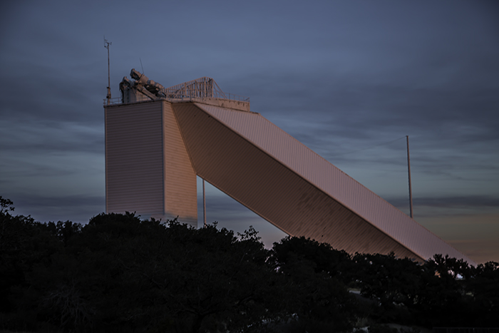 McMath-Pierce Solar Telescope at sunset