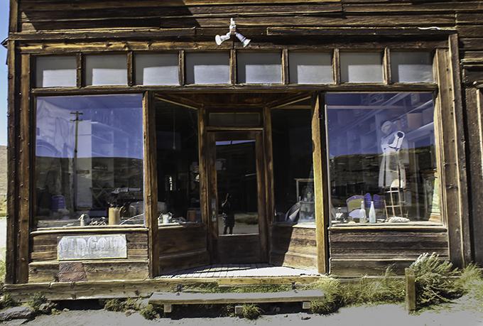 Geisterstadt Bodie im Mono County, Kalifornien