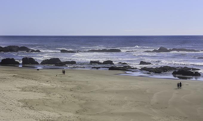 Destruction Island und Washington Küste