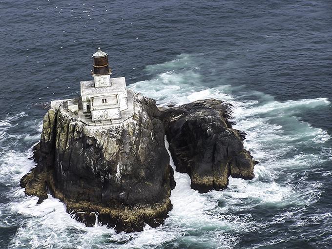 Tillamook Rock Lighthouse Oregon USA